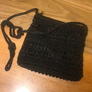👛 Women's Woven style Mini Purse/ Body bag